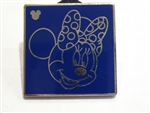 Disney Trading Pins Hidden Mickey Series III - Character Outlines - Minnie
