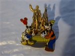 Disney Trading Pins Donald & Goofy At The Partners Statue