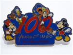 Disney Trading Pin 100 Years of Magic Walt Disney World (Fab 4 Painting)
