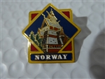 Disney Trading Pin 669 WDW - Epcot World Showcase Pavilion Series (Norway)