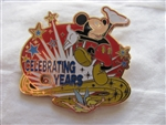 Disney Trading Pin 67142 Years of Celebration Spinner - Mickey and Tinker Bell