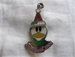 Disney Trading Pin 67159: DLR - Cute Donald in Santa Hat (Surprise Release)
