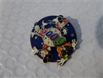Disney Trading Pin 67231 WDW - Dated 2009 - Fab 4 - Spinner