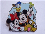 Disney Trading Pin My First Starter Set Featuring the Fab 5