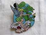 Disney Trading Pin 67886: Tinker Bell - Starter Set - Lanyard and 4 Pins (Tinker Bell with Wand Only)