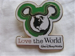 Disney Trading Pins 68200: Mickey Mouse Icon Love the World