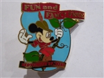 Disney Trading Pin Countdown to the Millennium Series #97 (Fun and Fancy Free / Mickey)