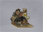 Disney Trading Pins 68417 Pirates of the Caribbean Starter Set 2009 (Goofy and Donald Pin Only)