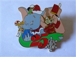 Disney Trading Pin 68593 WDW - Mickey's Very Merry Christmas Party 2008 - (Timothy and Dumbo Only)