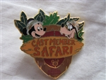 Disney Trading Pins 69 Cast Member Safari - Disney's Animal Kingdom (Mickey & Goofy)