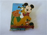 Disney Trading Pin  6948 DCA - Friendship Day 2001 (Mickey & Pluto)