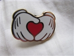 Disney Trading Pin 6951: DLR - Mickey Mouse Hands with Heart