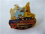 Disney Trading Pins  69981 DLR - Celebrate the Mountains - Big Thunder Mountain Railroad - Chip & Dale