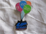 Disney Trading Pin 70355: D23 - Up All Night