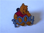 Disney Trading Pin 7037 DLR - Winnie the Pooh and Friends Name Series (Pooh Bear)