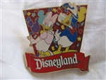Disney Trading Pin 70490: DLR - Get Away Today Vacations - Celebrate Donald and Daisy