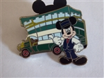 Disney Trading Pin 70850: DLR - Mini Pin Boxed Set - Main Street USA Area Vehicles Mickey Mouse with the Omnibus Only