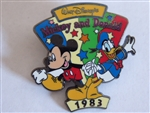Disney Trading Pins 7093: 100 Years of Dreams #14 - Mickey & Donald (1983)
