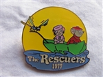 Disney Trading Pin 711: DS - Countdown to the Millennium Series #35 (The Rescuers / Bernard / Bianca / Evinrude)
