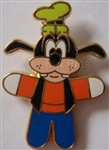 Disney Trading Pins  Character Pop Art - Goofy