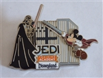 Disney Trading Pin 71534 Jedi Training Academy - Jedi Mickey and Darth Vader