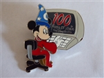 Disney Trading Pin  Sorcerer mickey with computer