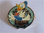 Disney Trading  7196 WDW - Zodiac POM Series - October 2001 - Scorpio - Donald Duck