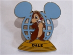 Disney Trading Pins 72229 WDW - Walt Disney World® Resort Ear Globe - Dale