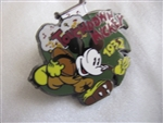 Disney Trading Pin  7229: DS - 100 Years of Dreams #18 - Touchdown Mickey