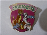 Disney Trading Pin 723: DS - Countdown to the Millennium Series #9 (The Aristocats)