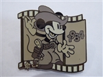 Disney Trading Pin Countdown to the Millennium Series #7 (Two Gun Mickey)
