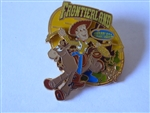 Disney Trading Pin   72677 Frontierland® Area - Woody and Bullseye
