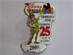 Disney Trading Pins 72740 DLR VoluntEARS Community Fund Celebrating 25 Years of Giving 2008