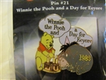 Disney Trading Pin 7284 100 Years of Dreams #21 Winnie the Pooh and a Day for Eeyore