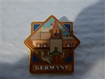 Disney Trading Pin 729 WDW - Epcot World Showcase Pavilion Series (Germany)
