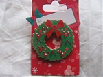 Disney Trading Pin 73222: Holiday Wreath with Mickey Jewels