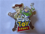 Disney Trading Pin  73378 DSF - Toy Story Woody and Buzz Lightyear