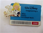 Disney Trading Pin 73508 WDI - It's a Small World ID Badge Series 2009 (Alice)