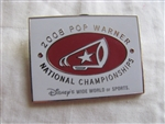 Disney Trading Pins 73558: WDW - Pop Warner National Championships 2008