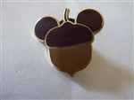Disney Trading Pins 74021 Mickey Mouse Icon - Acorn and Pilgrim Hat- Acorn Only