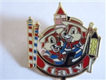 Disney Trading Pin Epcot World Showcase - Chip and Dale at the Italy Pavilion