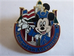 Disney Trading Pin Epcot World Showcase - Mickey Mouse at the American Adventure Pavilion