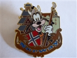 Disney Trading Pin Epcot World Showcase - Goofy at the Norway Pavilion