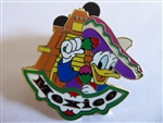 Disney Trading Pin Epcot World Showcase - Donald Duck at the Mexico Pavilion