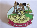 Disney Trading Pin Epcot World Showcase - Belle at the France Pavilion