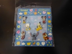 Disney Trading Pin Mini-Pin Collection - Cute Characters - Mickey Mouse and Friends (Version #2)