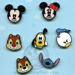 Disney Trading Pin Mini-Pin Collection - Cute Characters ...