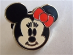 Disney Trading Pin Cute Characters - Faces  - Minnie Mouse