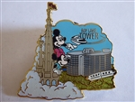 Disney Trading Pin 74357 Disney Vacation Club - Castle View of Bay Lake Tower