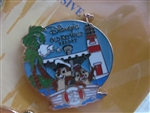 Disney Trading Pin 74435 WDW - Disney Vacation Club Booster Collection - Chip and Dale at Disney's Old Key West Resort Only